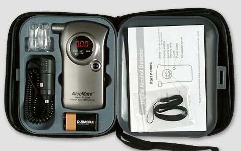 手持呼吸式酒精检测仪Ca200
